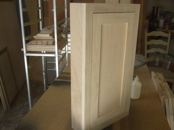 Shaker Medicine Cabinet Custom Made For You Our House