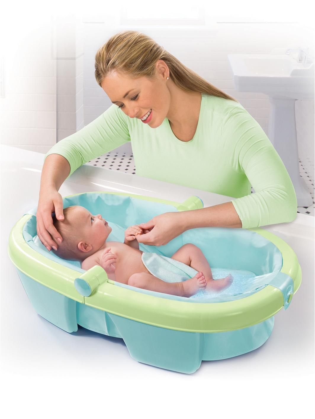 Summer Infant Folding Baby Bath Tub | Bath tubs, Infant and 12 months