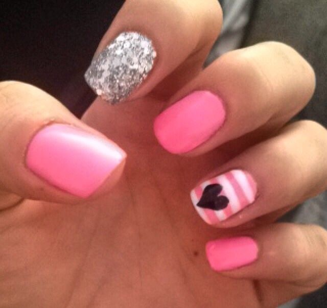 Pin By Sparkly Soda On Little Girls Nail Art Kids Nail Designs