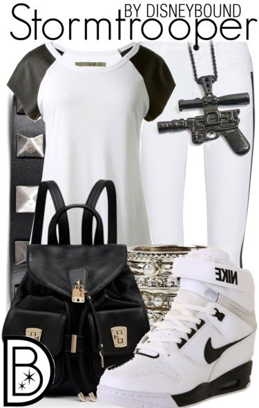Stormtrooper Disney Inspired outfit! | Disney Bound