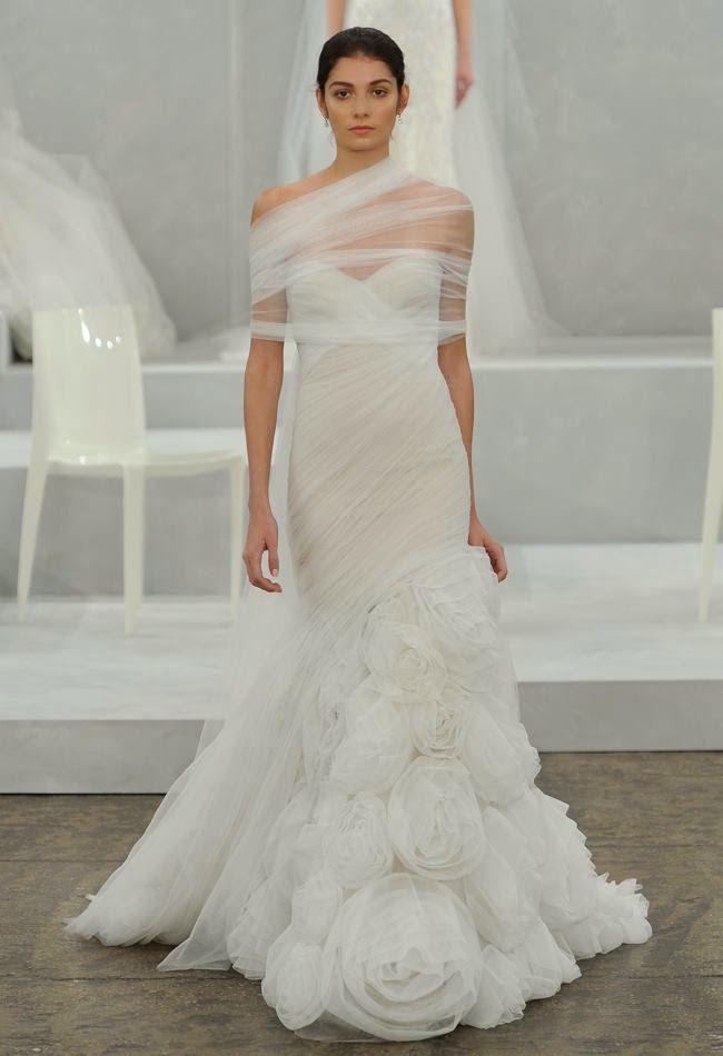Mis Queridas Fashionistas: Spring 2015 Bridal Collection: Monique Lhuillier