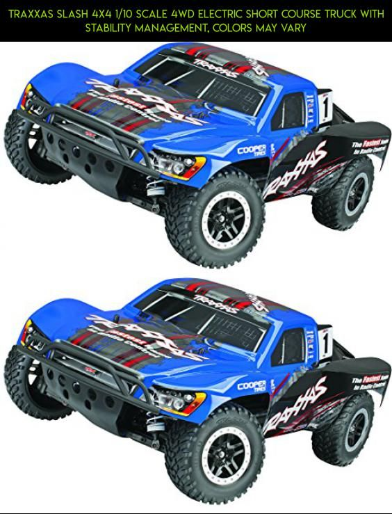 Traxxas Slash 4X4 1/10 Scale 4WD Electric Short Course Truck