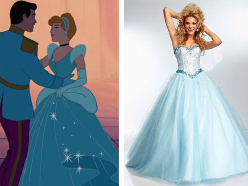 6 Prom Dresses Inspired by Disney Princesses | Disney prom dresses ...