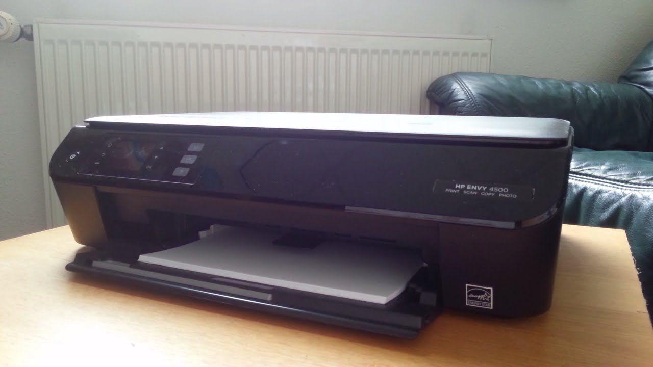 HP Envy 4500 WiFi printer review   My videos   Wifi printer