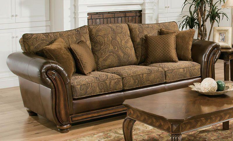 Zephyr Vintage Sofa Grand Home Furnishings 0214810