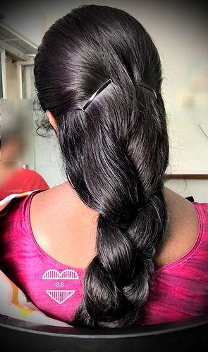 Thick Hair Braid Thick Hair Styles Long Hair Styles Long Shiny Hair