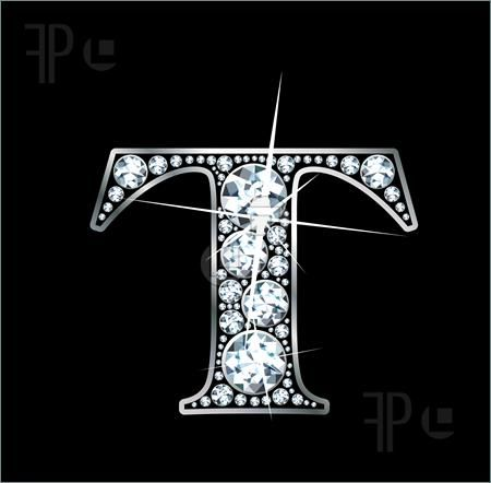 Diamond Letter A Stunningly Beautiful T Set In Diamonds And Silver Lettering Letter Stencils Picture Frame Decor