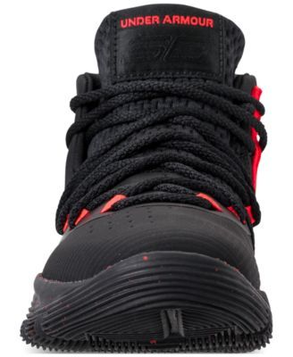 ff9d4a949e92 Under Armour Little Boys  Curry 3Zero Ii Basketball Sneakers from Finish  Line - Black 2.5