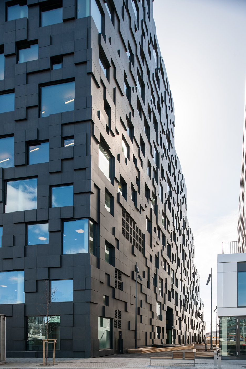 Archi In Casa Moderna casa moderna de amplio territorio (con imágenes) | fachada