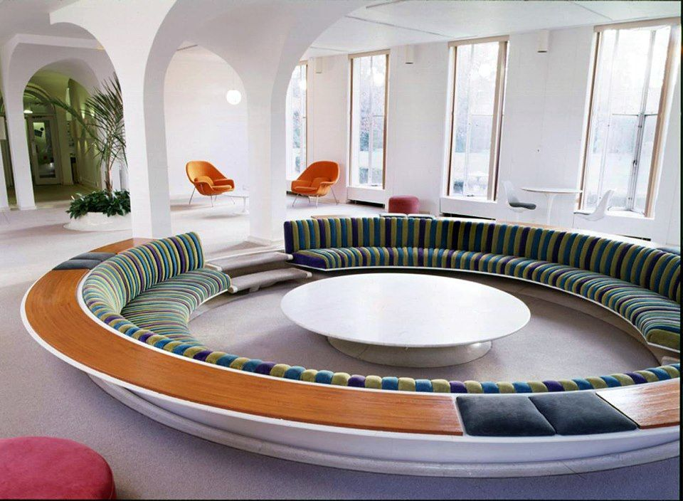 Conversation Pit With Many Friends
