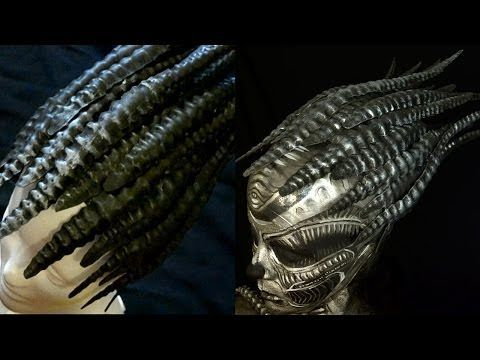 GIGER HEAD PIECE. DIY. With an special appearance!!! - YouTube