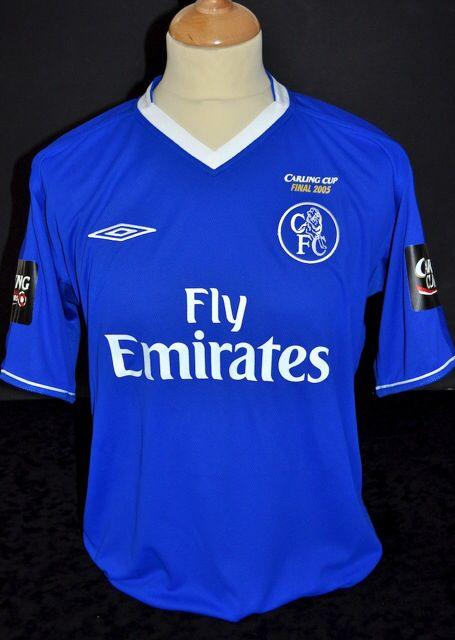 separation shoes ff99f 395c9 Chelsea 2005 Carling Cup Final shirt | League Cup Finals ...