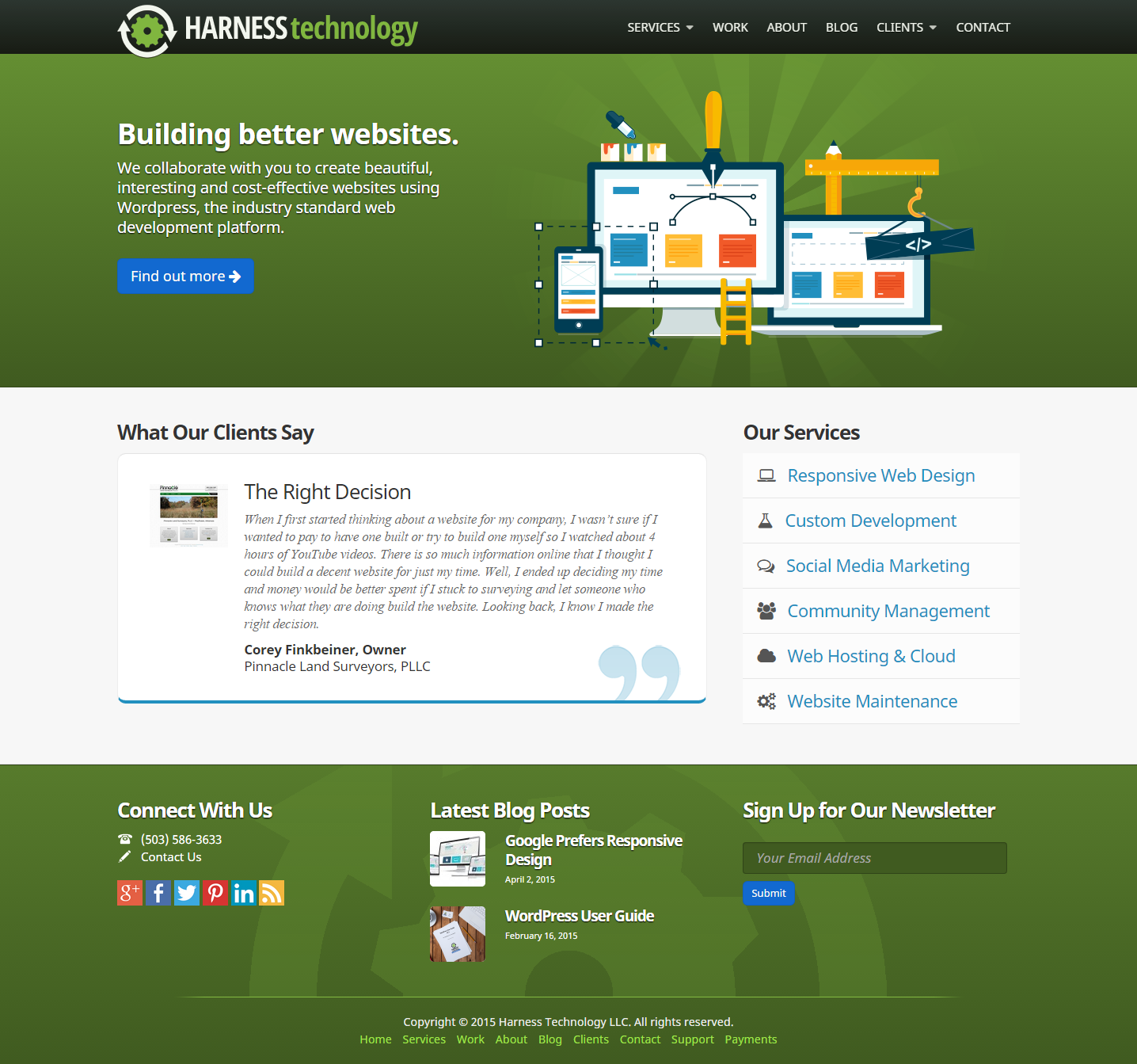 Site Created With Wp Jump Start 1 2 X Site Design By Wendell Harness I Wrangled Wpjs 1 2 Into This L Wordpress Website Design Web Design Wordpress Web Design