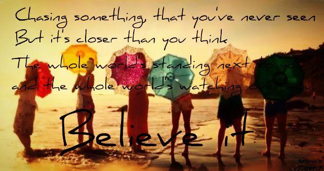 Believe it -Cimorelli