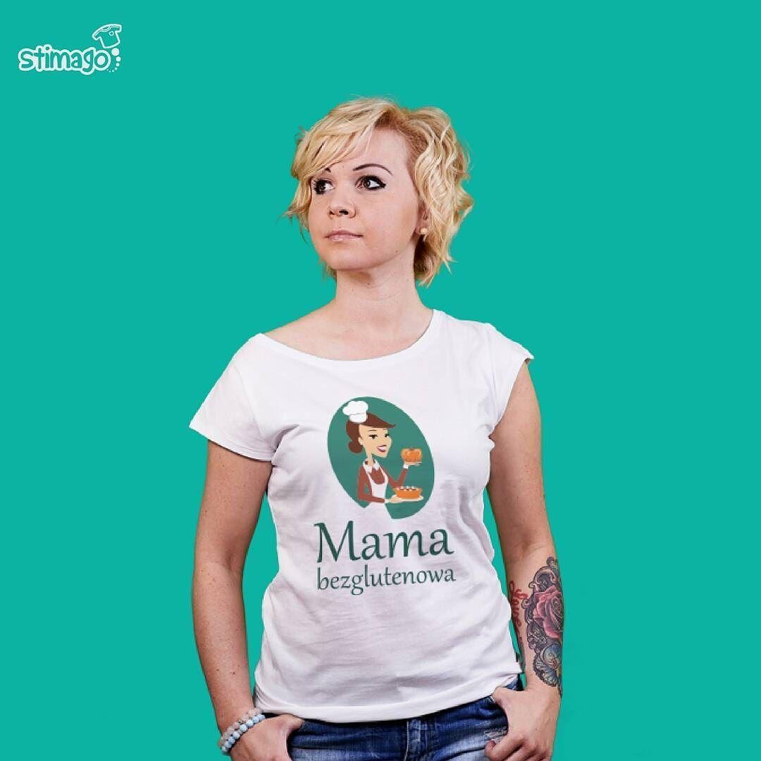 Tshirt Dla Mamy Ktora Dba O Zdrowie Koszulka Znadrukiem