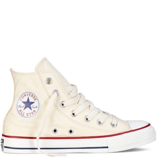 zapatillas converse altas blancas