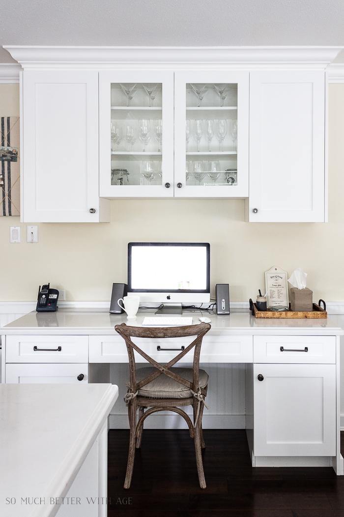 72 Best Kitchen Desks Ideas Kitchen Desks Built In Desk Kitchen Office