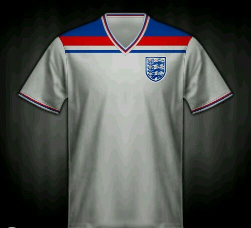 England Home Shirt For The 1982 World Cup Finals