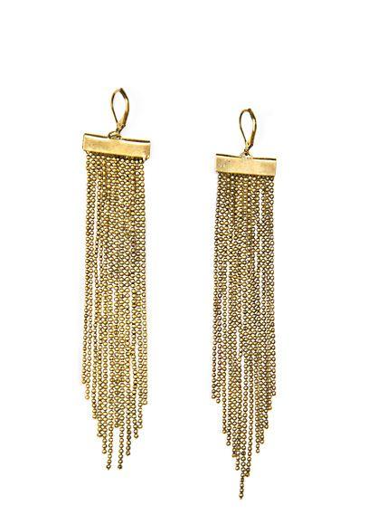 Emorias 1Pair Pendientes de plata Moda Dorado cuelgan los pendientes del gancho de la gota Muchachas de las Mujeres Pendientes para Joyer/ía Accesorios