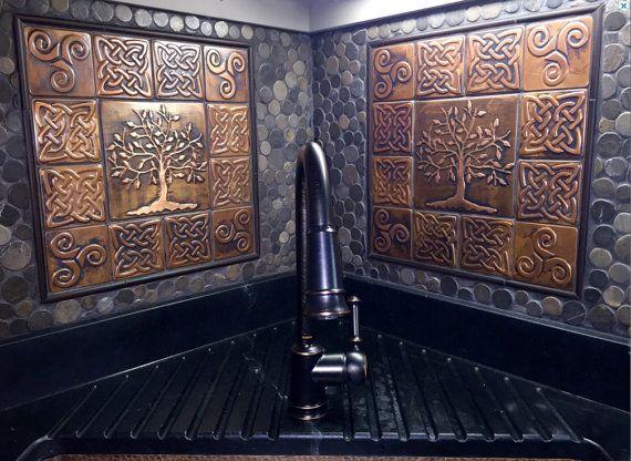 Pin On Copper Kitchen Backsplashes Wall Tiles