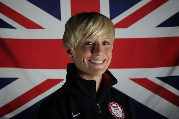 The 23 Openly Gay Athletes Of The 2012 Olympics  Lesbian Icons  Megan Rapinoe, Gay -4261