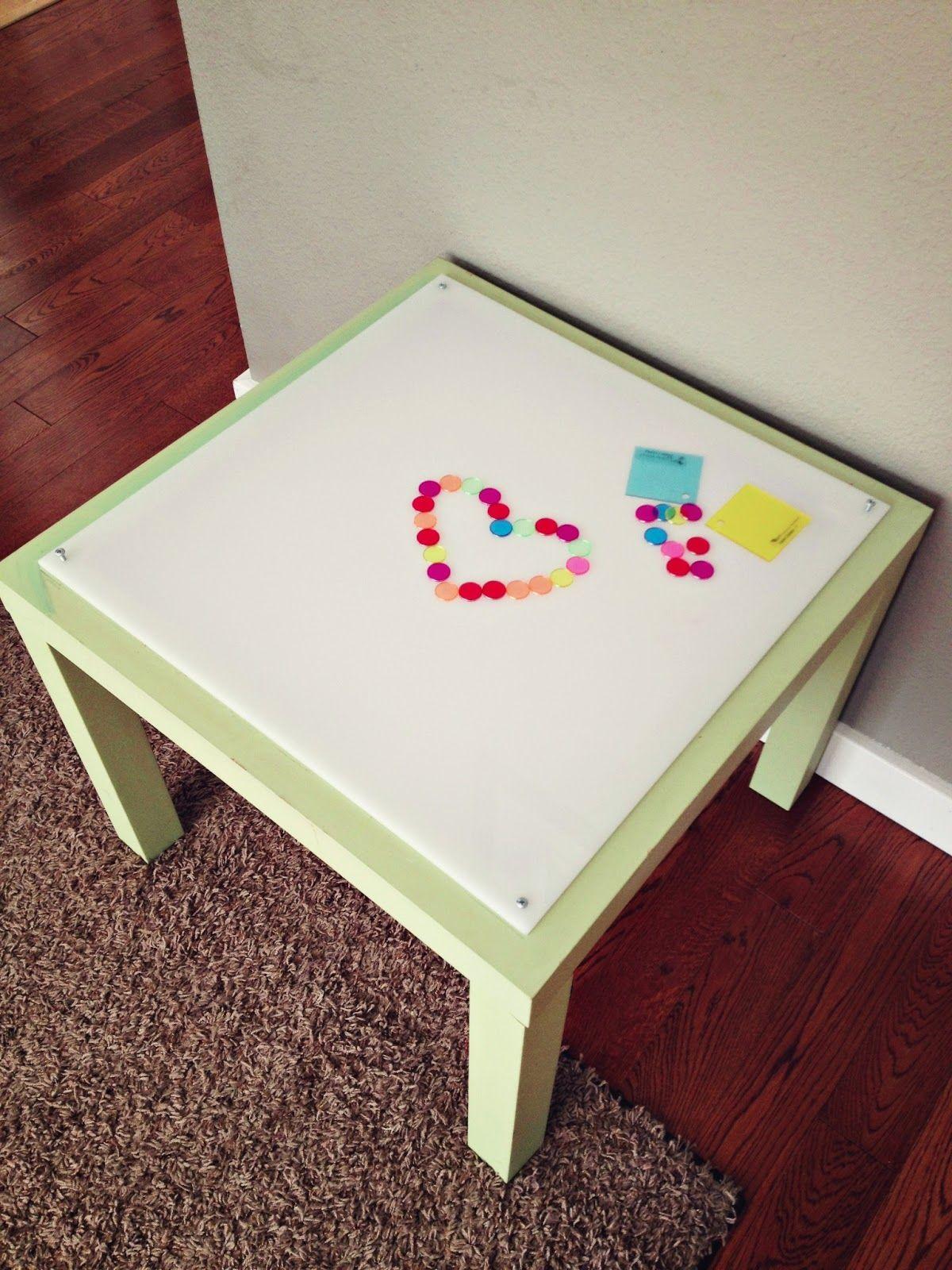 Adventures In Crafting By Katyandzucchini Diy Light Table Ikea Lack Hack