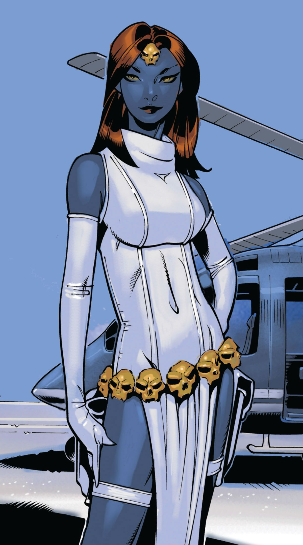 Mystique By Chris Bachalo Mystique Marvel Comic Book Girl Marvel Comic Character
