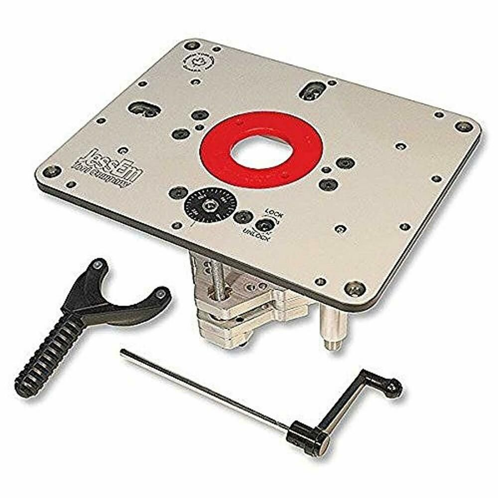Rout R Lift Ii Router Lift For Porter Cable 690 890 Craftsman 1754 17540 28190 Jessem In 2020 Router Lift Diy Router Router Plate