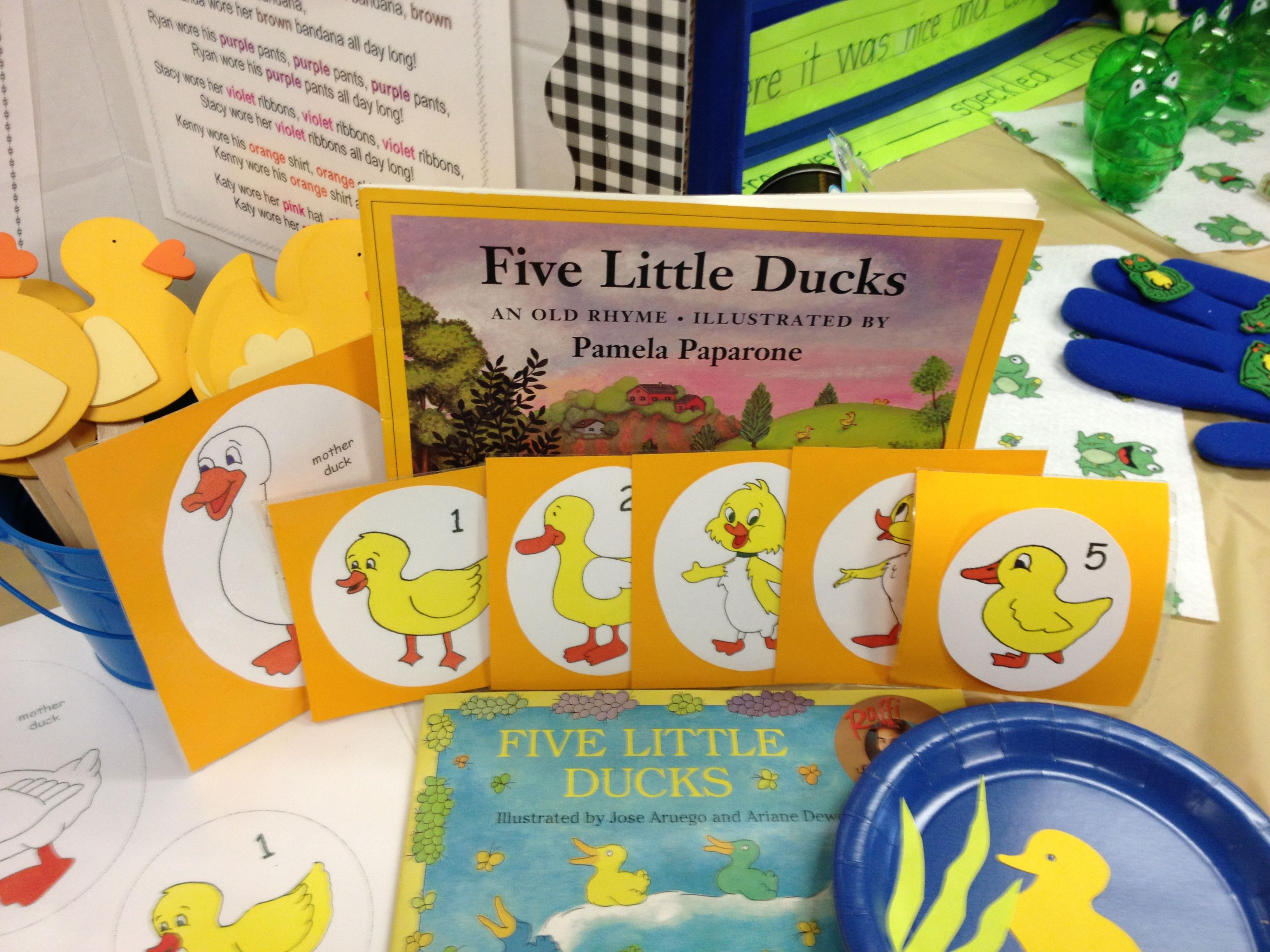 5 Little Ducks Song Story