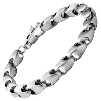 822aaedccc1b Fossil Men Bracelet JF84745 Stainless Steel Jewellry Ser Feliz