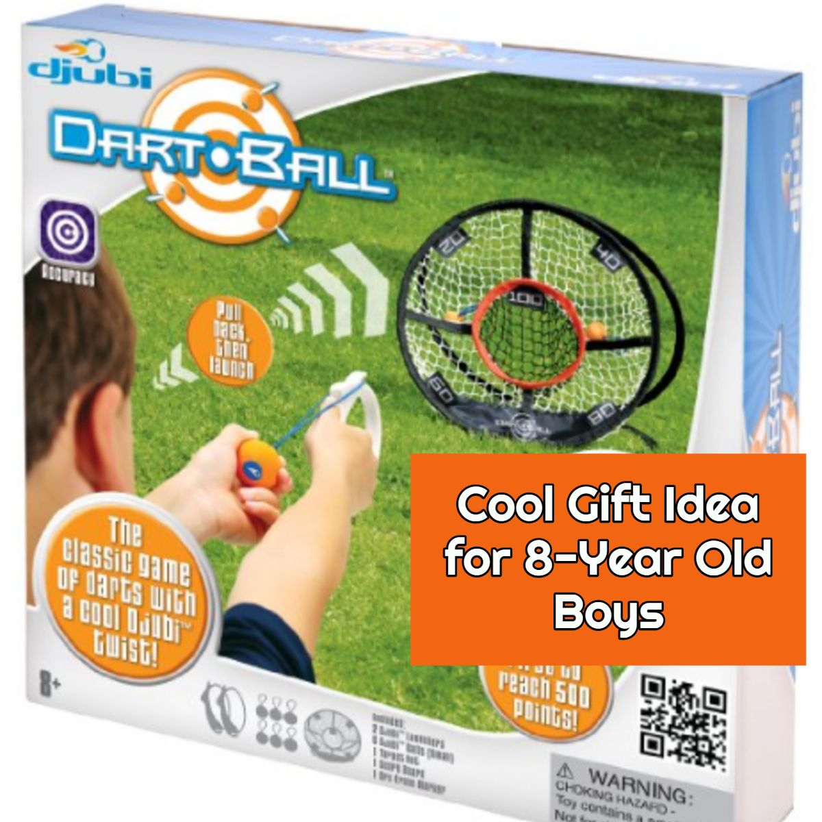 DJUBI DART BALL Cool Gift Idea For 8 Year Old Boys