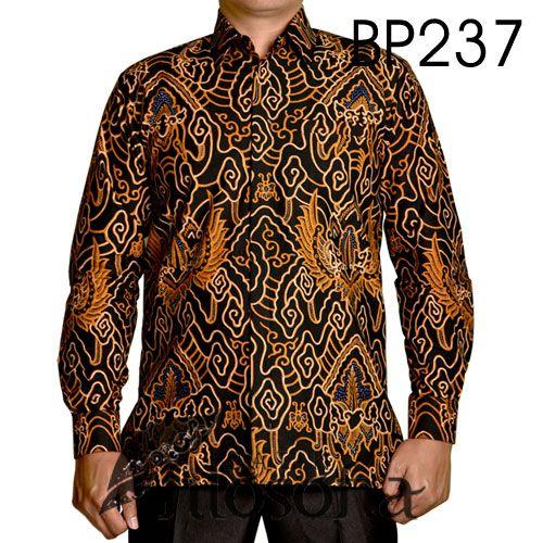 Kemeja Dari Batik Tulis: Kemeja Batik Tulis Elegan 237