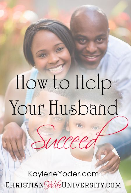 3934ca080c How you can Help your Husband Succeed