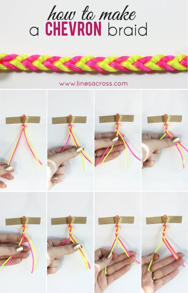 Braid Diy Craft Crafts Easy