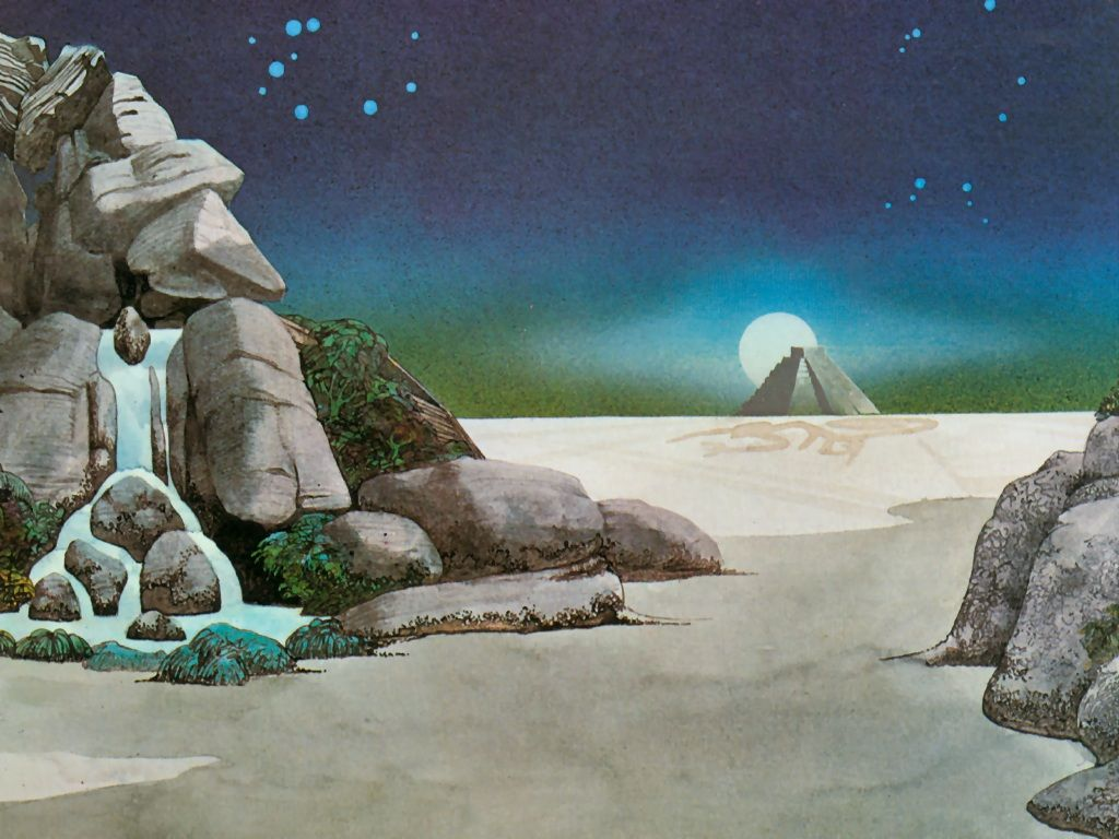 Roger Dean Art Roger Dean Close To Images Roger Demons And Asia