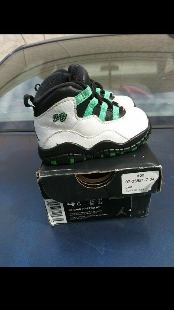 3ec4ec9ed80c85 Jordans 7retro BT used with the box size 5C  fashion  clothing  shoes