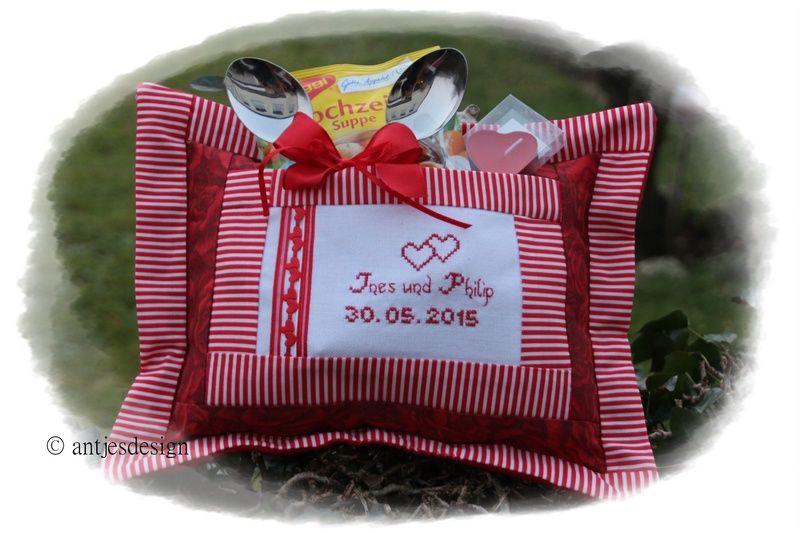 """Hochzeitsgeschenk  """"Candle Light Dinner"""" - Name  von Antjes Design auf DaWanda.com"""