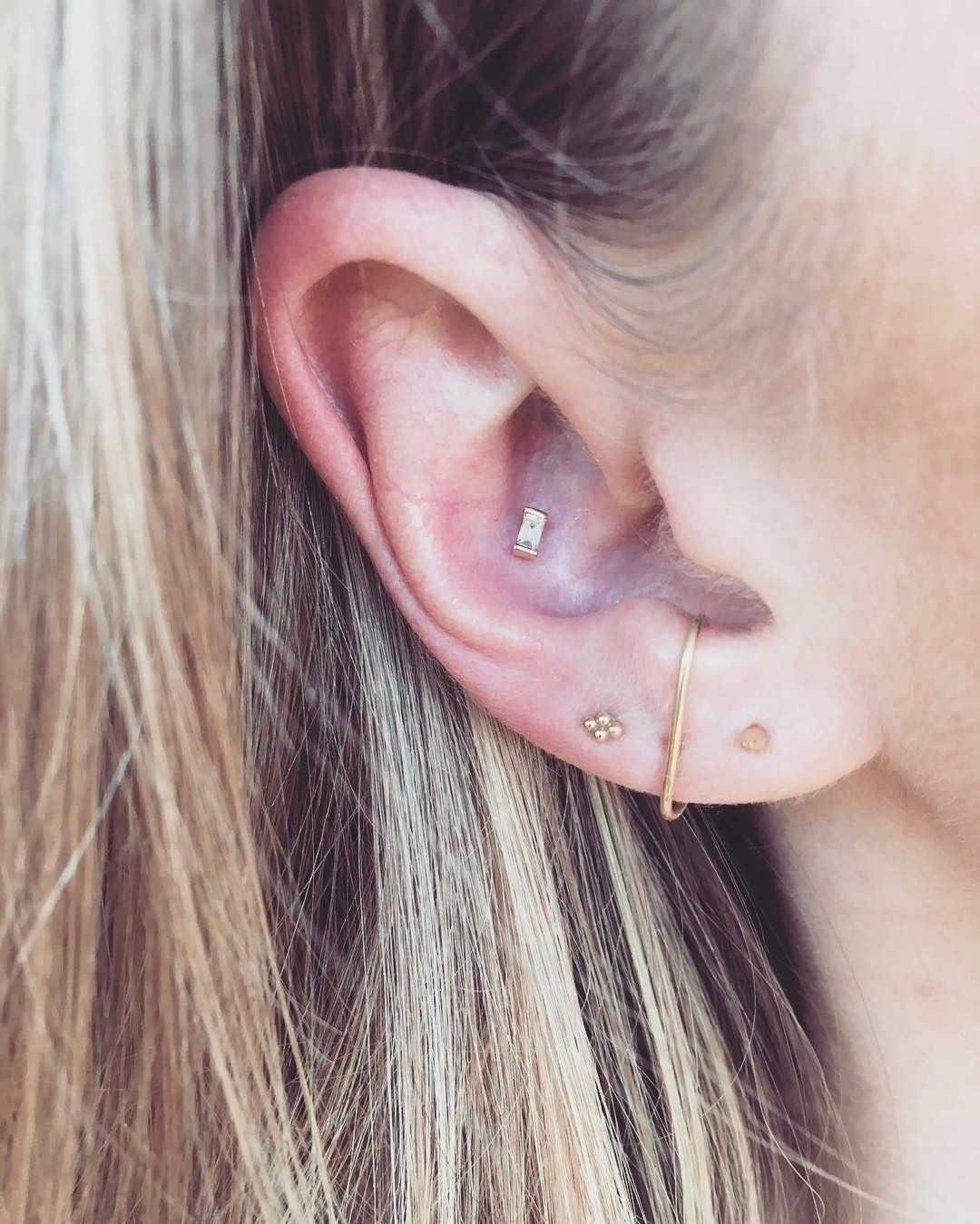 2879adaab 2017 Piercing Trends Brian Keith Thompson LA Minimalist | Jewelry ...