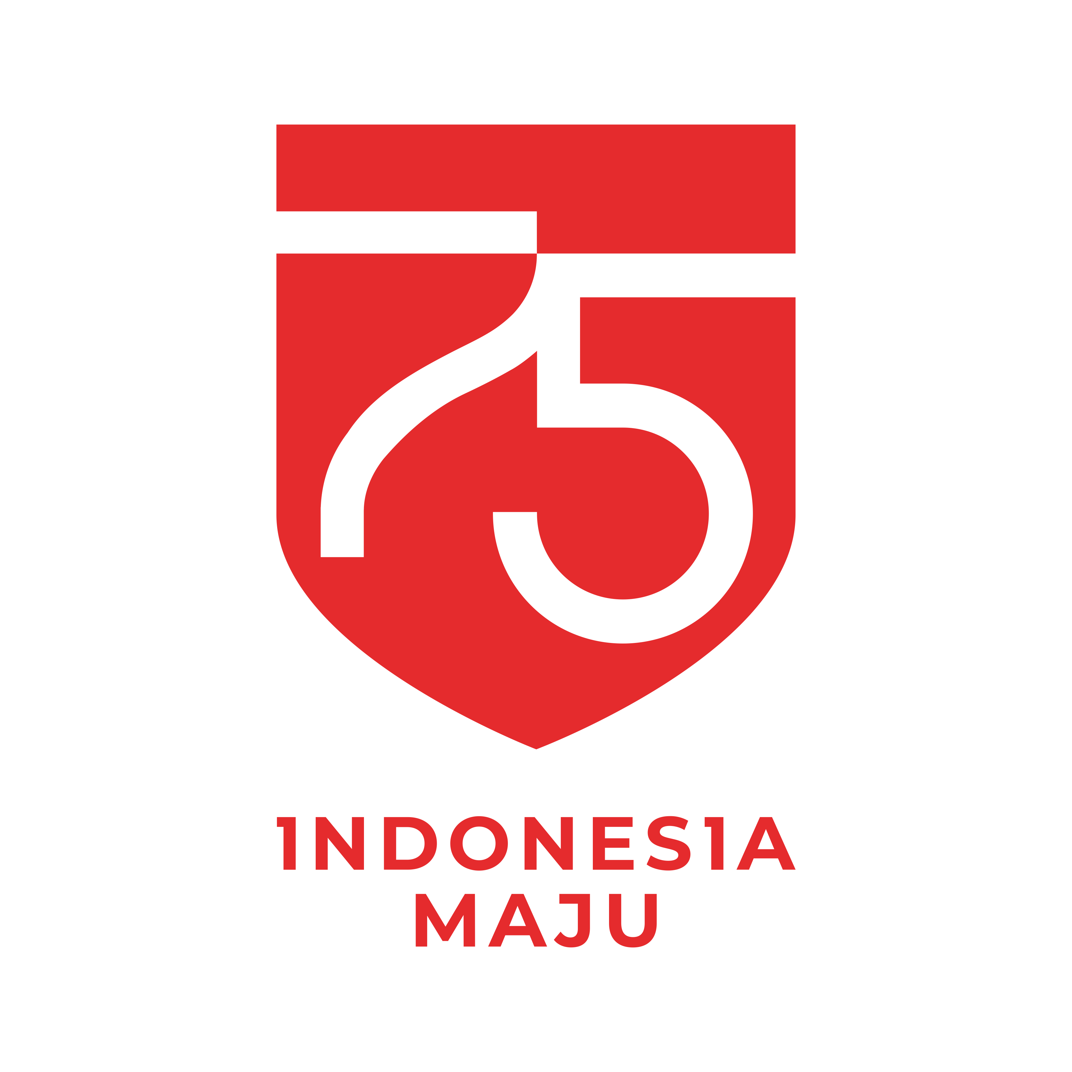 Logo HUT RI ke 75 png, ai, cdr, pdf, jpg HD in 2020