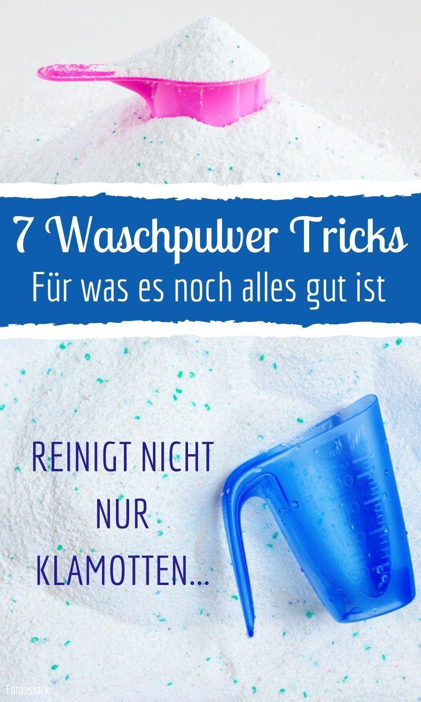 7 Waschpulver Tricks, für was es noch alles gut ist