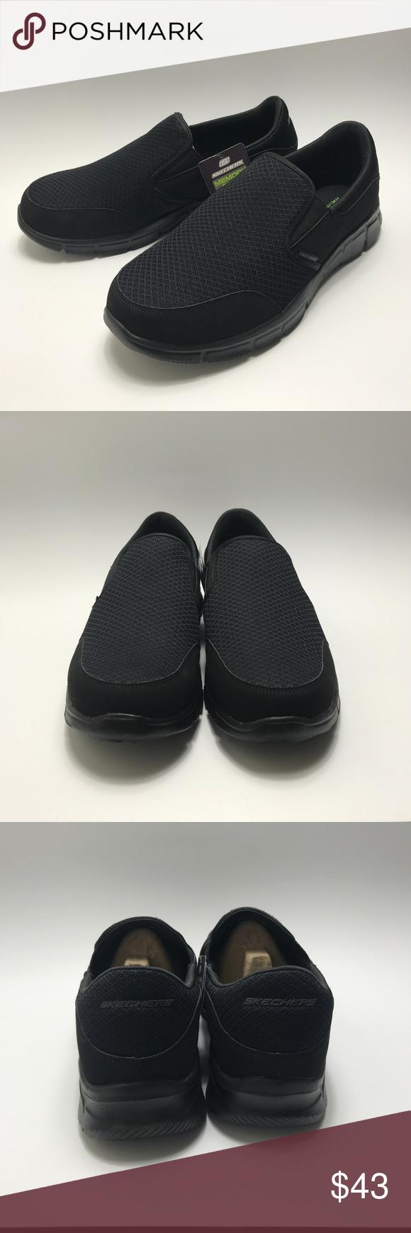 Skechers Memory Foam Wide Fit Dura-Lite