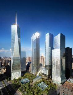 Ground Zero Master Plan / Studio Daniel Libeskind