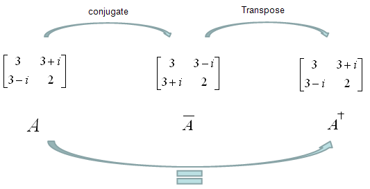Hermitian Matrix is a special matrix, which is same as its