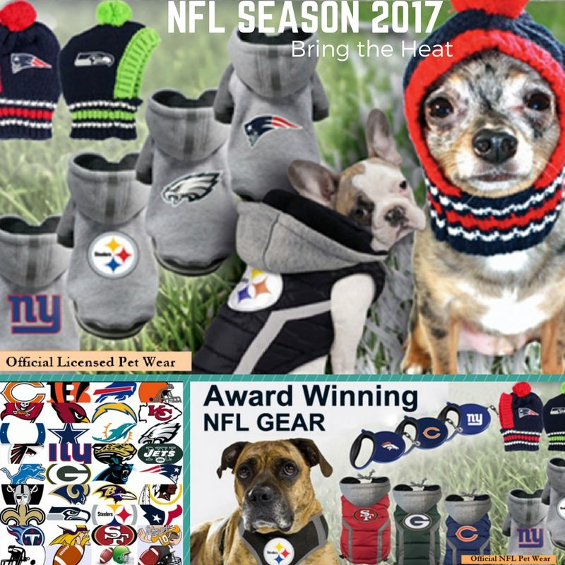 Suit Up for NFL with Official NFL Pet Wear at Daisey s Doggie Chic. Jackets 0219baed2