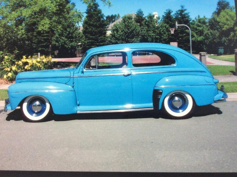 1942 Ford Super Deluxe Tudor Sedan For Sale 1788782 Classic Cars Trucks Cool Old Cars Classic Cars Vintage