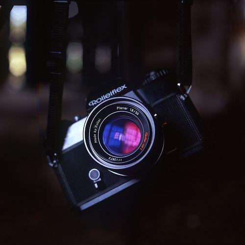Rolleiflex SL35 - Planar 1.8 50mm lens
