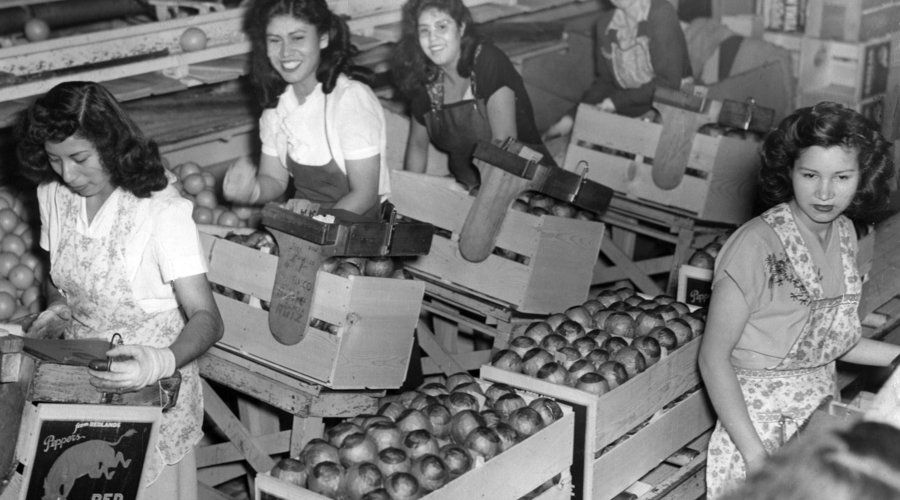 women working in the great depression