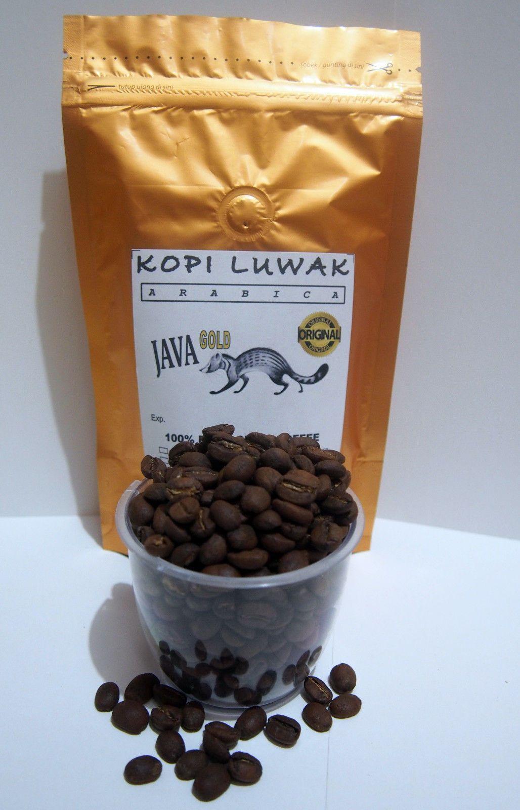 100 Authentic Kopi Luwak Java Arabica Authentic Civet