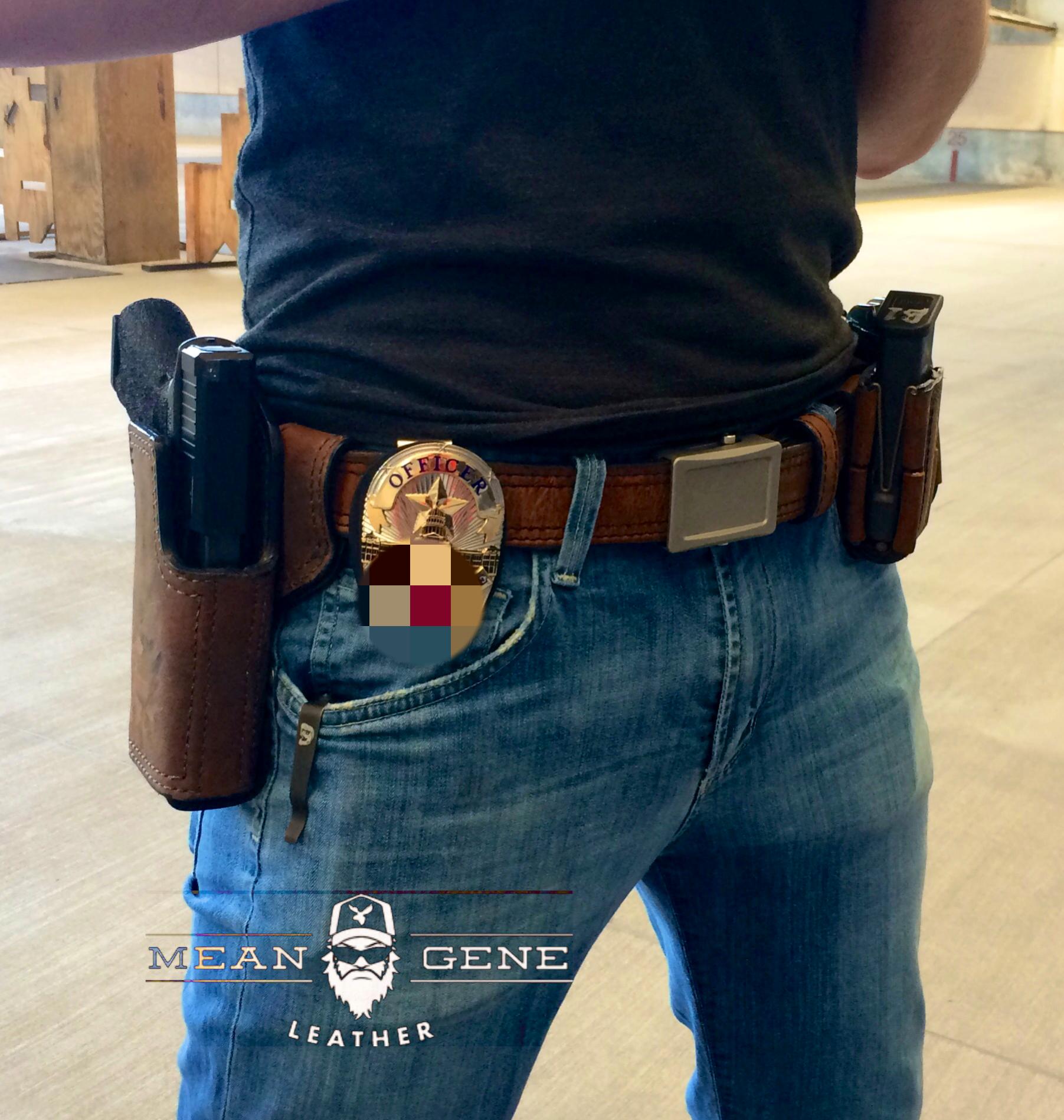 Pin On Gun Leather
