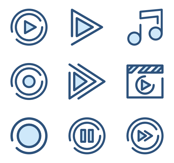 173 Icon Packs Of Music Player Music Players Music Festival Logos Icon